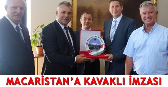 Macaristan'a Kavaklı imzası