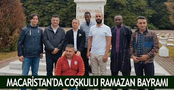 Macaristan'da Coşkulu Ramazan Bayramı