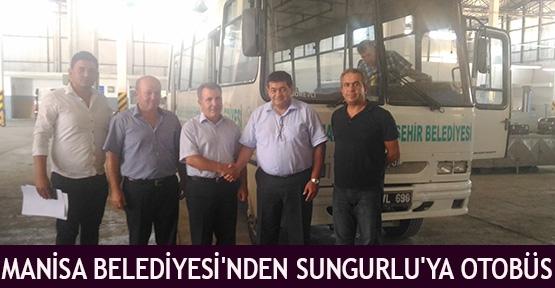 Manisa Belediyesi'nden Sungurlu'ya otobüs
