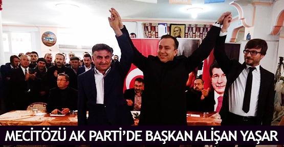 Mecitözü AK Parti'de Başkan Alişan Yaşar
