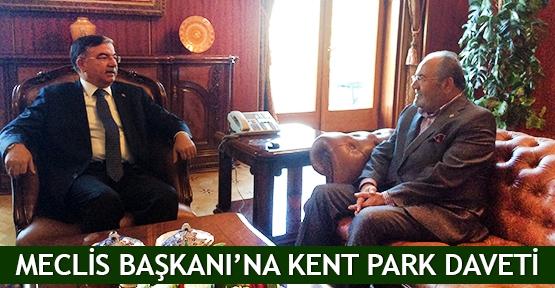 Meclis Başkanı'na Kent Park daveti