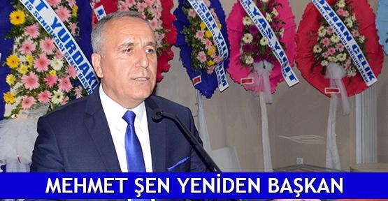 Mehmet Şen yeniden başkan