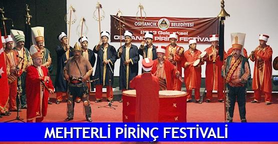 Mehterli pirinç festivali