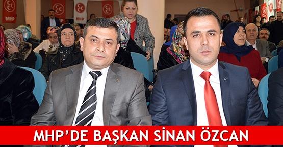 MHP'de Başkan Sinan Özcan