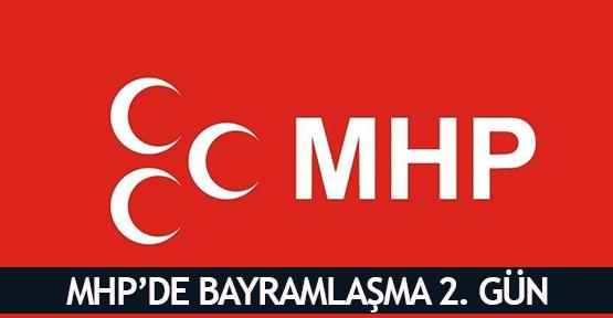 MHP'de bayramlaşma 2. Gün