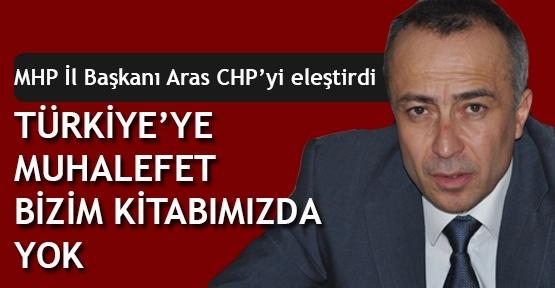 MHP'den CHP'ye eleştiri