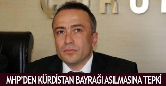 MHP'den Kürdistan bayrağı asılmasına tepki