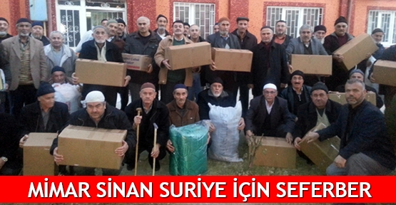 Mimar Sinan Suriye için seferber