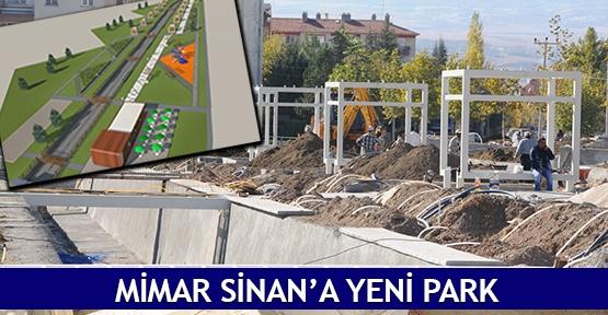 Mimar Sinan'a yeni park