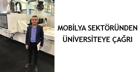 Mobilya sektöründen üniversiteye çağrı