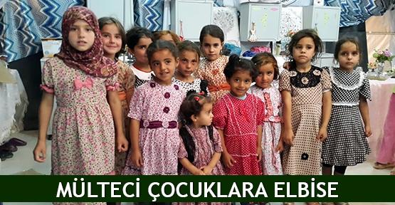 Mülteci çocuklara elbise