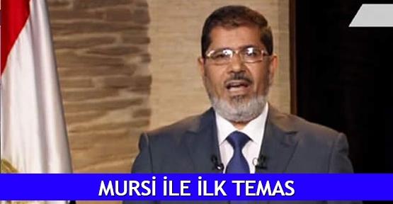 Mursi ile ilk temas