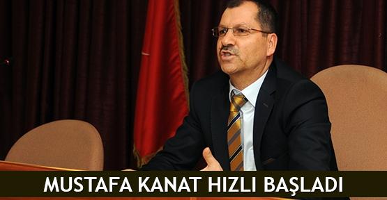 Mustafa Kanat hızlı başladı
