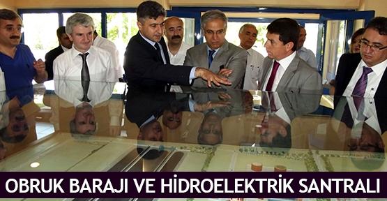 Obruk Barajı Ve Hidroelektrik Santralı
