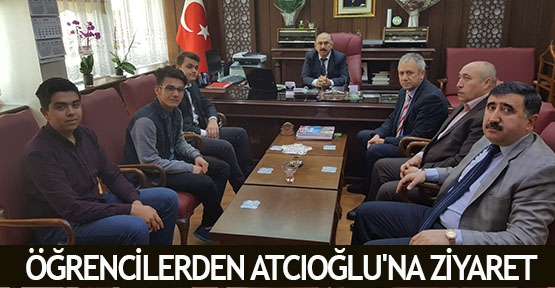 Öğrencilerden Atcıoğlu'na ziyaret