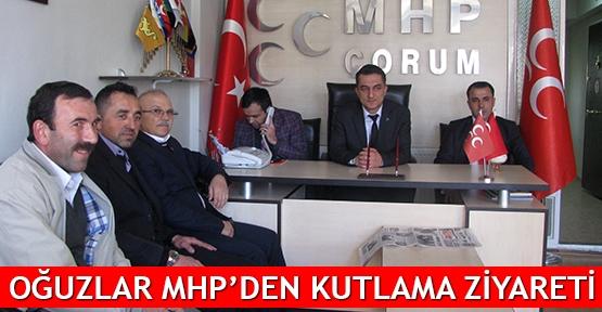 Oğuzlar MHP'den kutlama ziyareti