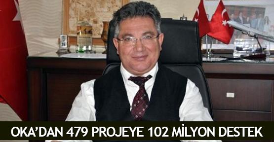 OKA'dan 479 projeye 102 milyon destek