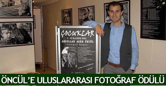 Öncül'e uluslararası fotoğraf ödülü