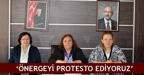 'Önergeyi protesto ediyoruz'