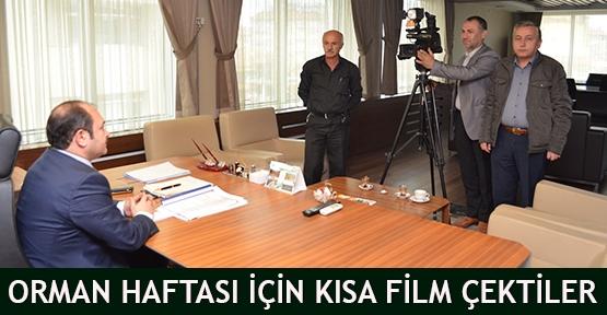 Orman Haftası için kısa film çektiler