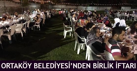 Ortaköy Belediyesi'nden Birlik İftarı