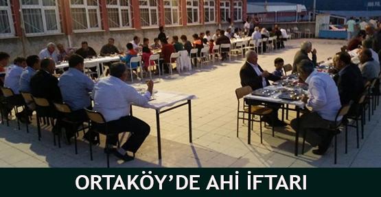 Ortaköy'de Ahi İftarı