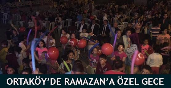 Ortaköy'de Ramazan'a özel gece
