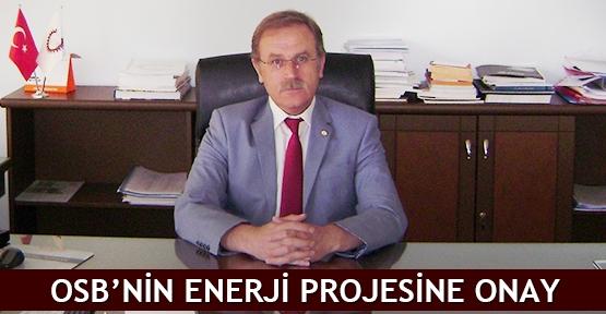 OSB'nin enerji projesine onay