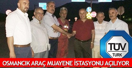 Osmancık araç muayene istasyonu açılıyor