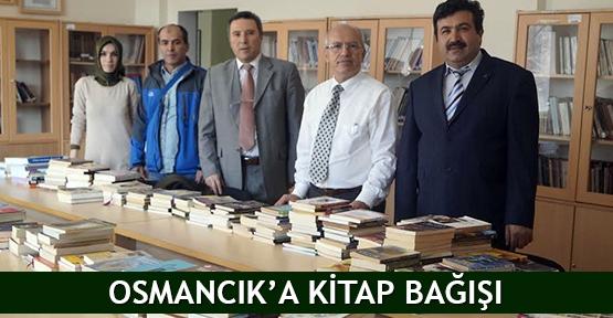 Osmancık'a kitap bağışı