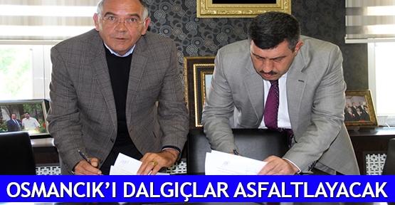 Osmancık'ı Dalgıçlar asfaltlayacak
