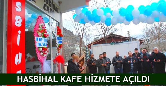 Osmancık'ta Hasbihal Kafe hizmete açıldı