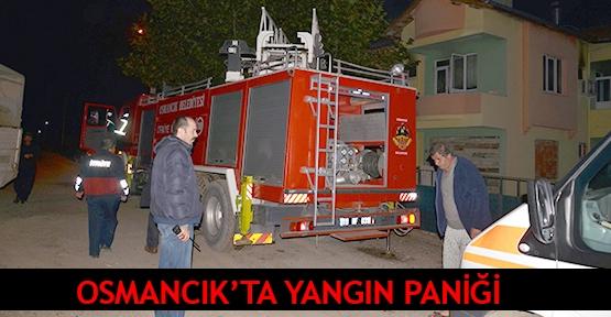 Osmancık'ta yangın paniği