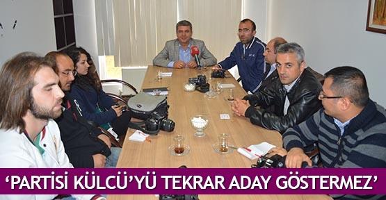 'Partisi Külcü'yü tekrar aday göstermez'