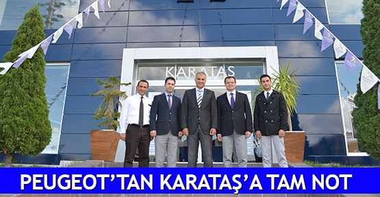 Peugeot'tan Karataş'a tam not