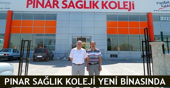 Pınar Sağlık Koleji yeni binasında