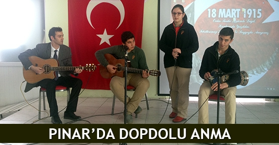 Pınar'da dopdolu anma