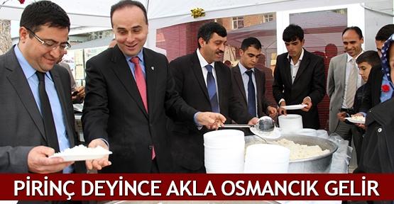 Pirinç deyince akla Osmancık gelir