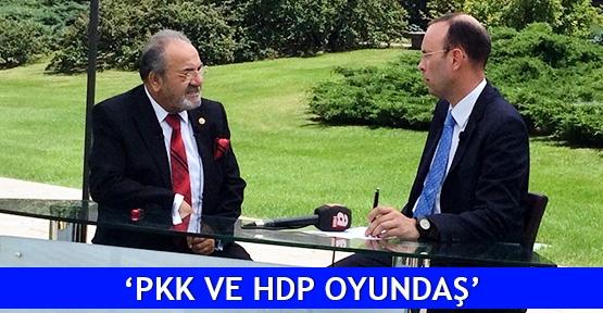 'PKK ve HDP oyundaş'