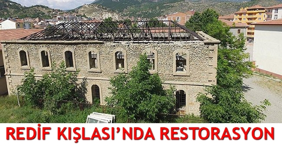 Redif Kışlası'nda restorasyon