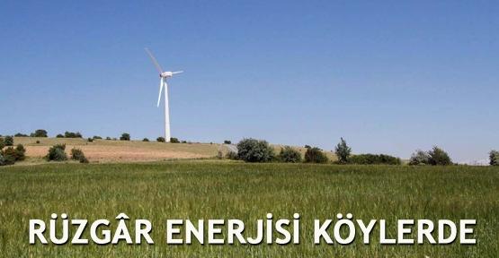 Rüzgar enerjisi köylerde