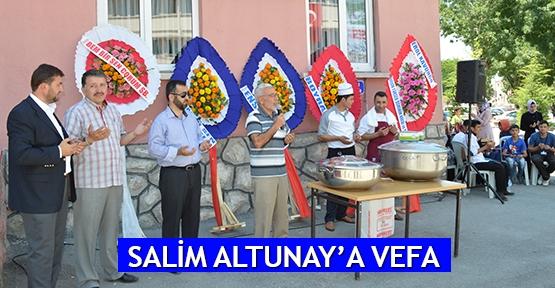 Salim Altunay'a vefa
