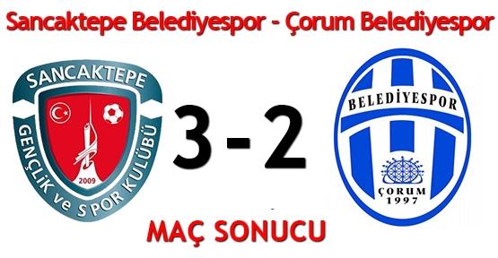 Sancaktepe Belediyespor - Çorum Belediyespor