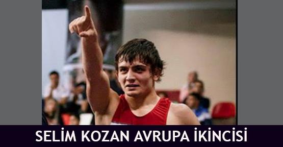 Selim Kozan Avrupa ikincisi