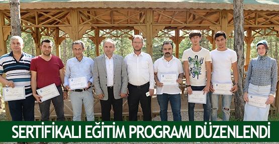Sertifikalı eğitim programı düzenlendi