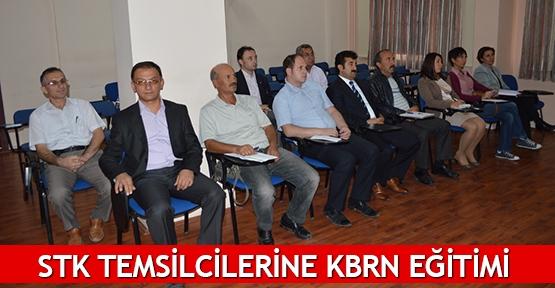 STK temsilcilerine KBRN eğitimi
