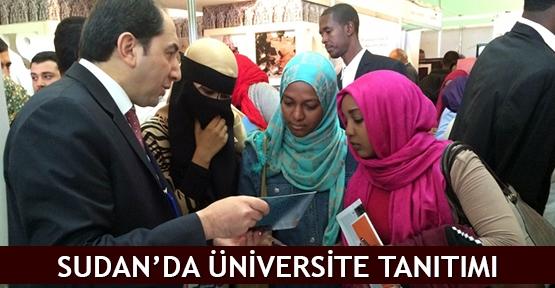 Sudan'da üniversite tanıtımı