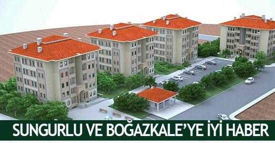 Sungurlu ve Boğazkale'ye iyi haber