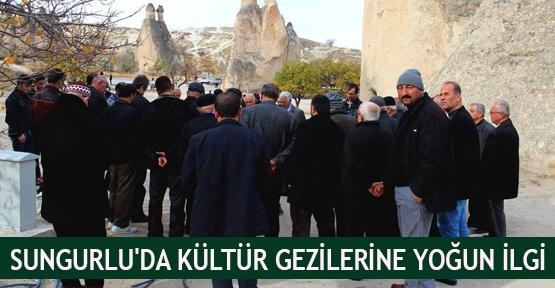 Sungurlu'da Kültür Gezilerine Yoğun İlgi