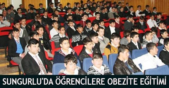 Sungurlu'da Öğrencilere Obezite Eğitimi